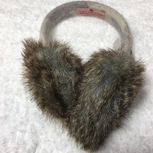 Juicy Couture Wool Blend Ear Muffs